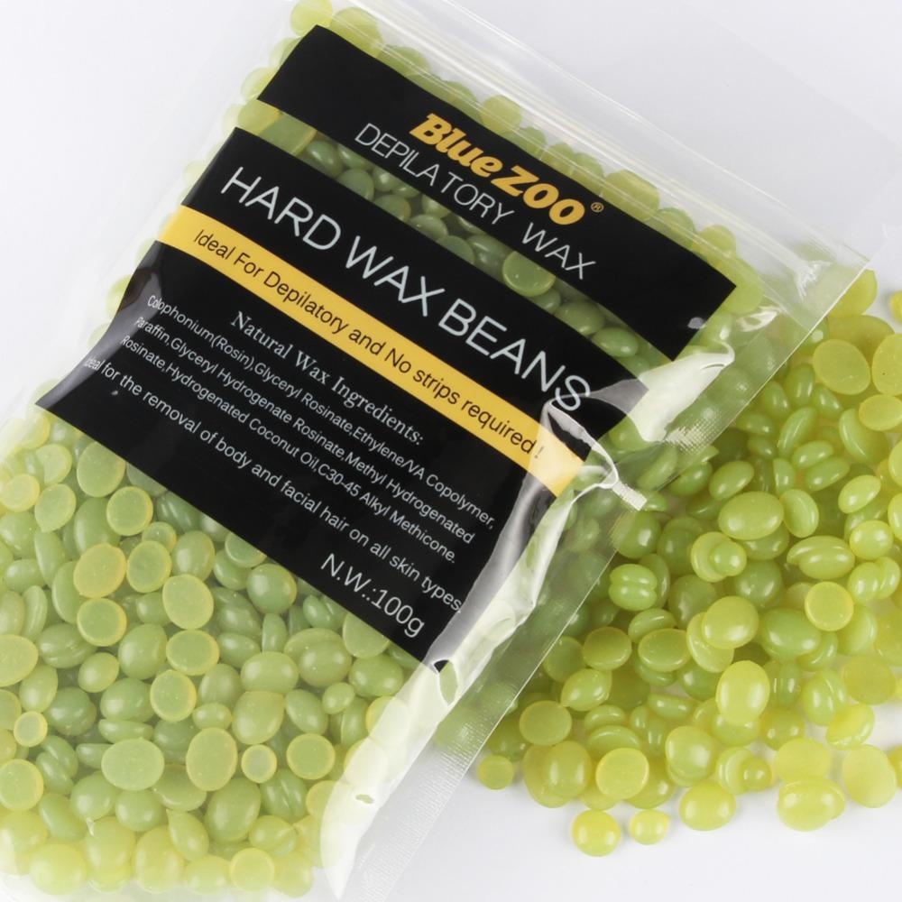 Waxing Kit Depilatory 500CC Hot Wax Hair Removal Machine and Hard Wax Beans 100g Pearl Wax Painless Depilacion Facial Body 13