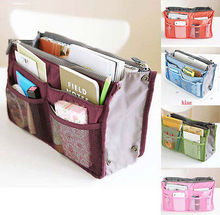 Hot New Women Fashion Storage Bags Insert Organiser Large Purse Casual Travel Bags(China)