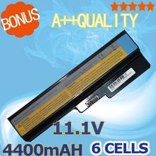 4400mAh Battery For Lenovo 3000 G430 G450 G530 G550 for deaPad Z360 51J0226 57Y6266 57Y6527 57Y6528 42T4586 42T4728(China)