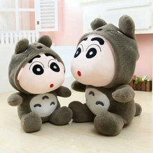 1pcs 35cm  HOT sale Japan crayon Little new Shin-chan Cosplay Totoro  dolls Stuffed plush toys dolls children gifts!