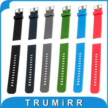 17mm 18mm 19mm 20mm 21mm 22mm Silicone Rubber Watch Band for Casio BEM 302 307 501 506 517 EF Quick Release Strap Wrist Belt