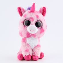 Ty Beanie Boos Plush Toy Doll Original Pink Purple Unicorn