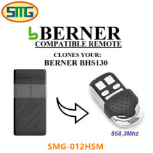 Berner BHS130 868Mhz. Garage Door Gate Remote Control Duplicator(China)