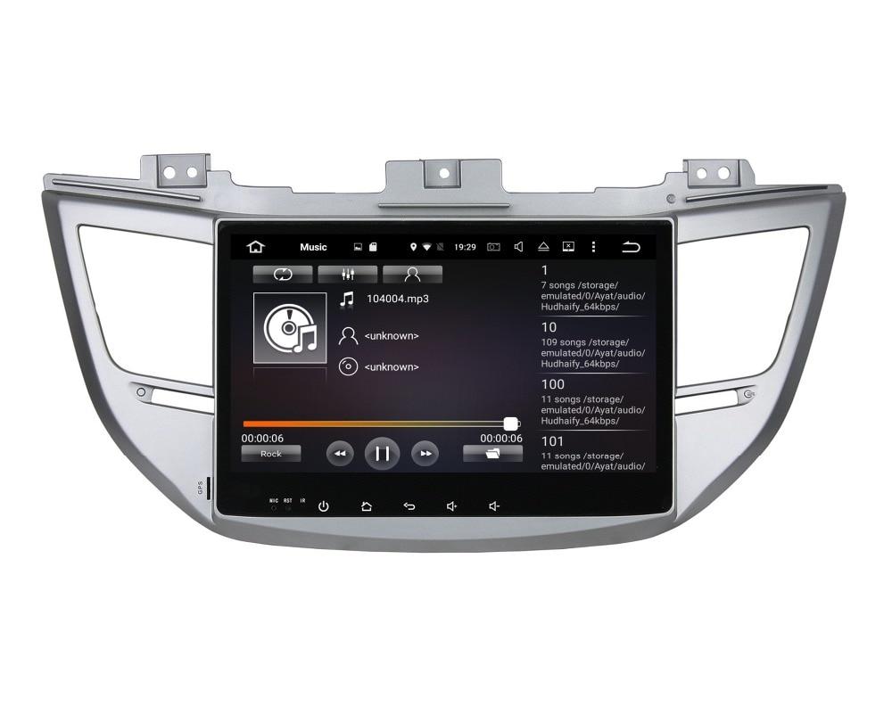 Octa Core 10.1″ Android 6.0 Car DVD GPS for Hyundai IX35 Tucson 2015 2016 With 2GB RAM Radio Bluetooth WIFI 32GB ROM Mirror-link
