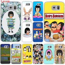 Lavaza Bob's Burger bob Precious Burgers Hard Transparent for Samsung Galaxy S6 S7 S8 Edge Plus S5 S4 S3 & Mini Case Cover