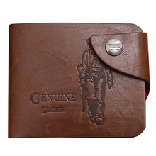 2017 Hot Men's PU Leather Wallet Vintage Men Wallets Notecase Casual Hasp Money Clips Purse Male Coin Money Bag Man Wallet Burse