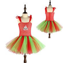 Moeble Christmas Girl Fancy Clothes Tutu Dresses Collection Harley Quinn baby Girl Party and wedding Dress Halloween party dress(China)