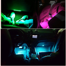 car atmosphere lamp for audi a3 seat ibiza  opel seat ford focus citroen c4 opel astra h chevrolet cruze w176 golf  Accessories