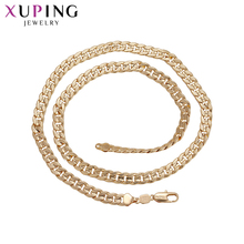 11.11 Deals Xuping Fashion Generous Necklace Environmental Copper for Unisex Thanksgiving Jewelry Gift 43674(China)