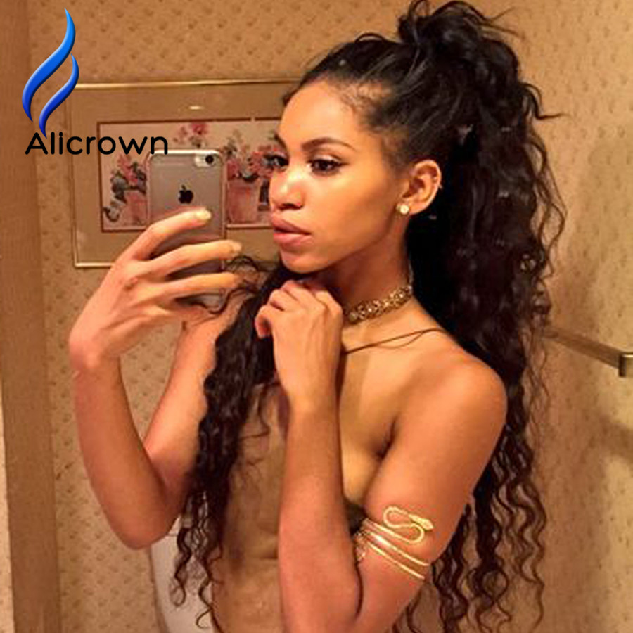 Kinky Curly Wig Brazilian Full Lace Wig With Baby Hair Lace Front Human Hair Wigs Balck Women U Part Human Hair Kinky Curly Wigs<br><br>Aliexpress