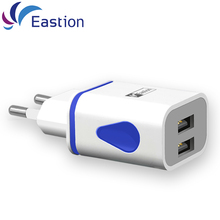 Eastion USB Charger for Phone Universal EU Plug Wall Smart Chargers Device Mobile Phone Adapter Charging for Samsung Xiaomi