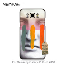 2016 Colored Drawing Hard Case  For GALAXY J5 2016 case  Composition On Panel Cool Mask