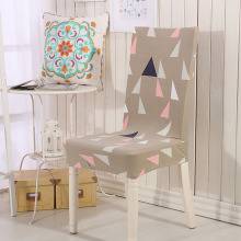 colorful trangle chair cover spandex housse chaise manger extensible new new arrival chair covers spandex