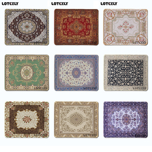 NEW hot Persian carpet style  logo Mouse Pad Costom Mouse Mat High Quality Skid Durable Fashion Computer and Laptop Mouse Pad
