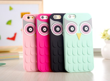 Buy Cute 3D Cartoon Owl Fundas Capa Soft Silicone Phone Cases Cover iPhone 7 7plus 5 5s se 6 6s plus 5.5 Rubber Back Cover for $3.34 in AliExpress store
