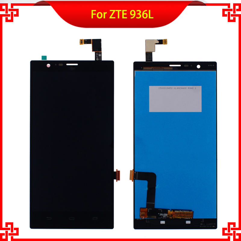 100% Tested LCD Display Touch Screen For ZTE 936L Z936L High Quality Mobile Phone LCDs Free Shipping<br><br>Aliexpress