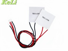 5PCS/LOT TEC1-12706 12706 TEC Thermoelectric Cooler Peltier 12V New of semiconductor refrigeration TEC1-12706 FREE shipping