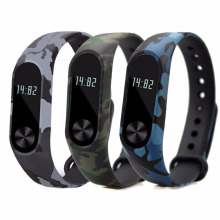 Buy Unique Camouflage Pattern TPU Strap Wristband Bracelet Watch Band Replacement Wrist Band Durable Xiaomi MI Band 2 for $1.30 in AliExpress store