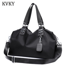KVKY Fashion Designer Women Handbags Female Nylon oxford Bags Portable Shoulder Bag Office Ladies Totes Bag Bolsas Femininas(China)