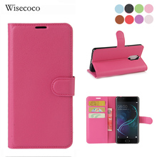 Buy Funda Doogee Shoot 1 Cover 5.5'' Flip Wallet Leather Card Protection Stand Phone Cases Wisecoco case doogee shoot1 coque for $3.56 in AliExpress store