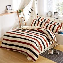 Modern Stripe Bedding Set Duvet Cover Set Polka Dot Bed Sheet Pillowcase 4 pcs Single Twin Full Queen King  housse de couette