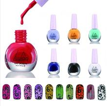 Lulaa 2017NEW Nail Gel Polish  Colorful 32 Colors Varnish Cheap Manicure stamp UV Lamp or LED  Art Decorating Stamping