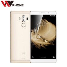"Original ZTE Axon 7 Max 4G LTE Mobile Phone Snapdragon 625 6.0"" 1920*1080 FHD 4 RAM 64G ROM Dual Rear 13.0MP Fingerprint(China)"