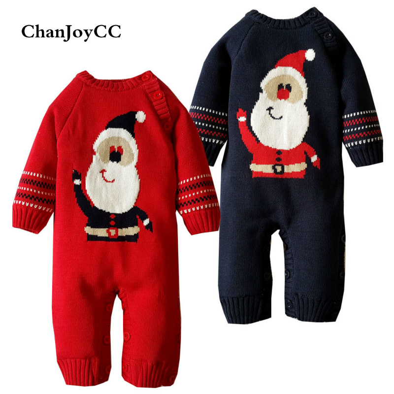Baby Romper Winter Fashion Newborn Girls Boys Thickening Warm Clothes Longsleeve Kids Christmas Rompers Jumpsuit<br>