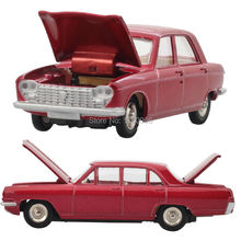 DINKY Toys Alloy Atlas CLASSIC CAR MODEL 510+513 Red Set Suit Alloy Diecast Car model & Toys Model for Collection