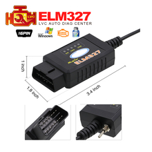 2017 latest ELM327 USB FTDI chip with switch for F0.rd HS CAN and MS CAN car diagnostic cable free Shipping