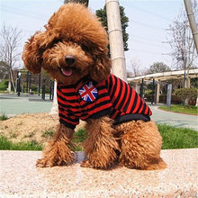 Random Color Cross Stripe Large Dog Clothes Life Jackets Pet Winter Coat Dog Halloween Costume Suit Pet Accessories For Cheap