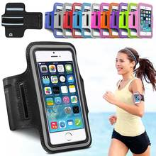 Waterproof Sport Running Arm case For iPhone 6s 7 case Gym Bag For Samsung Galaxy S6/Edge S7 Xiaoredmi 3s PU Leather Phone Cover