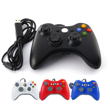 USB Wired Game Gamepad Controler For Microsoft Xbox 360 Gaming Joystick Wired Joypad Controller For XBOX360 Windows 7/8/10 O4