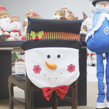 Best Santa Claus Chair Covers Christmas Decorations Merry Christmas Xmas Dinner Table Party Chair Back Cover(China)