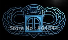 LI184- 82nd Airborne Wings Army   LED Neon Light Sign    home decor shop crafts