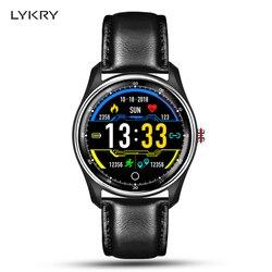 LYKRY MX9 ECG Смарт часы браслет с электрокардиографом сердечного ритма Монитор артериального давления PPG Smartwatch + 8 языков руководство