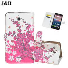 For Alcatel One Touch Pixi 4 6.0 inch 8050D 3g Flip Cover PU Leather Case Durable Wallet Type FOR Alcatel pixi4 (6) Case Cover(China)