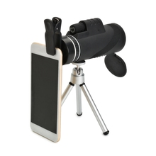 Buy 12x50 Zoom Optical Phone Lens Camera Telescope Monocular + Tripod + Universal Clip iPhone Samsung Xiaomi Mobile Phone for $17.14 in AliExpress store