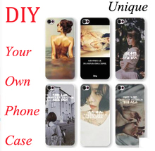 Custom Design DIY Transparente Hard Plastic Case For Lenovo A808T A2010 K4 Note K5 Note X3 Lite K80 X3 X2 Pro Cell Phone Cover