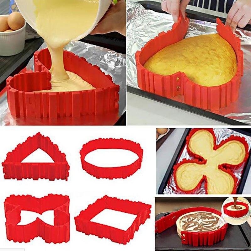 Как сделать прямоугольную форму для торта