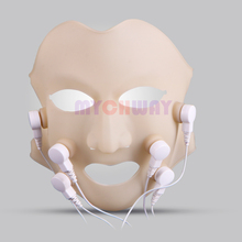 Newest Vibration Massage LED Photon Facial Mask Therapy Skin Rejuvenation Face lift Beauty Salon Equipment duty free