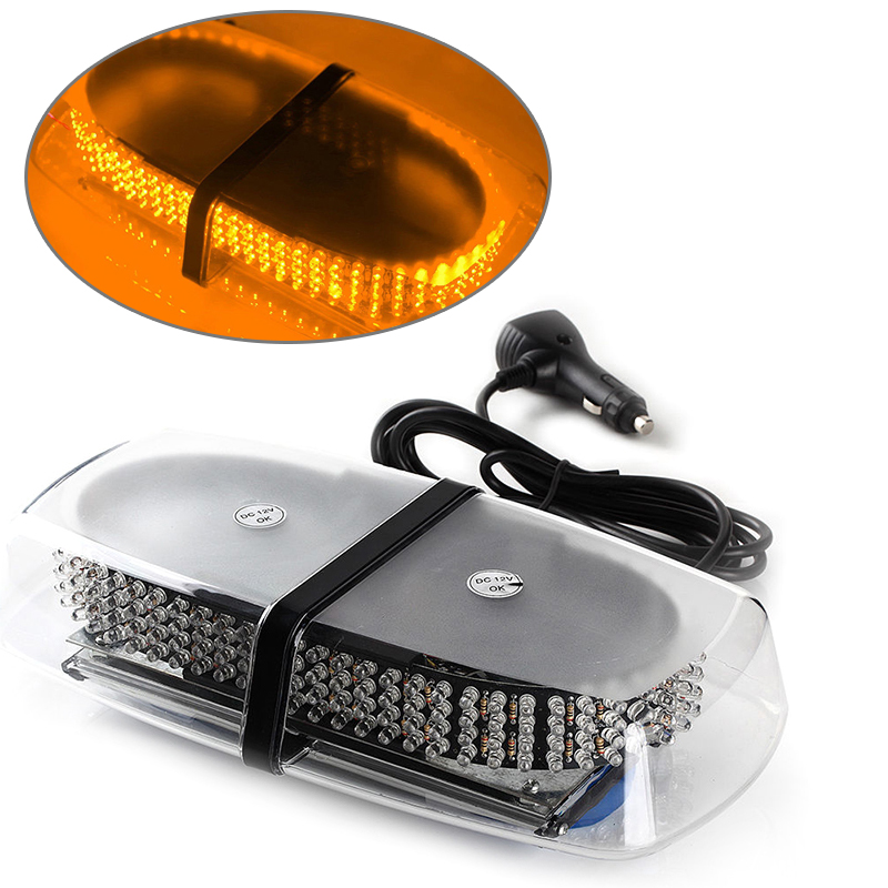 240 LED Strobe Light Car Truck Roof Top Emergency Light Car Flashing Lights LED Lamp Bulbs Car Dome Lights<br>