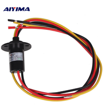 Aiyima NEW 3 Wires 30A 250Rpm 380 VDC/VAC Wind Generator Slip Ring FOR Wind Turbine(China)