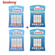 2Pack/8Pcs Ienelong 1.2V 2100mAh AA Rechargeable Battery and 2Pack/8Pcs  900mAh AAA Rechargeable Batteries