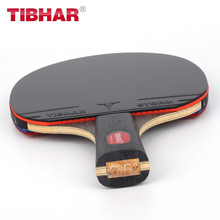 Racket Blade Rubber Table-Tennis Ping-Pong Tibhar Professional Pimples-In 7 with Bag