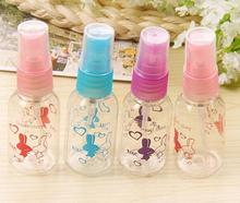 50PCS 30ml spray bottle Plastic packing,PET refillable perfume bottlle