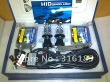 Free Shipping New 12v 35w H4-3 Hi/low hid xenon kit 6000k 35W H4 Xenon bulb lamp AC kit Factory Promotion