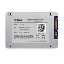"Kingfast 7mm ultrim metal 2.5"" internal 1TB SSD SATAIII 6Gbps with cache 1GB Solid State Drive for laptop&desktop Free shipping"