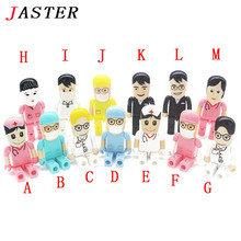 JASTER all styles Doctor Nurse models USB 2.0 Flash Memory Stick Pen Drive 8GB 16GB 32GB dentist USB Flash Drives U dick