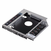 12.7mm SATA HDD SSD Hard Drive Caddy Optical DVD Bay Adapter For Asus K53SV VCQ06 P79